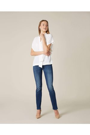 7 for all Mankind ROXANNE MID RISE STRAIGHT