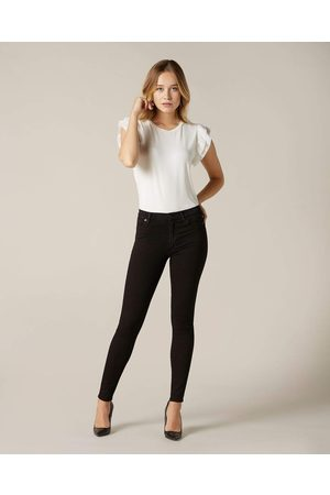 7 for all Mankind Women High Waisted - SLIM ILLUSION LUXE HIGH WAIST SKINNY IN RINSED