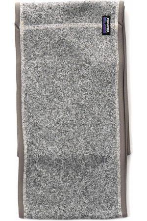 Patagonia Better Sweater Scarf - Birch White Colour: Birch White