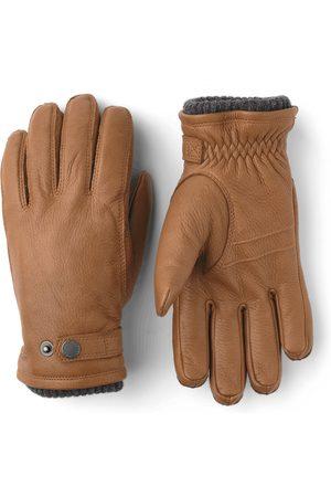 Hestra Mens Leather Utsj Tan Gloves