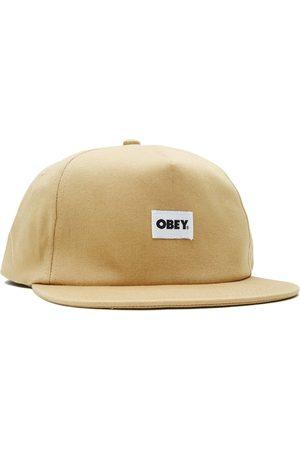 Obey Bold Label Organic Snapback Almond