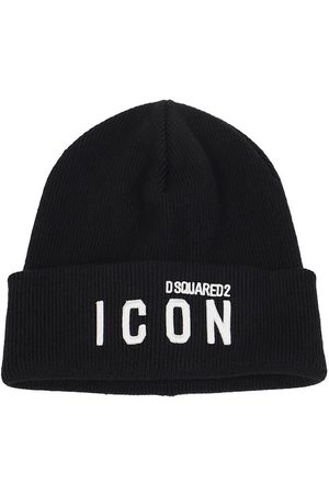 Dsquared2 MEN'S KNM000101W04331M063 WOOL HAT