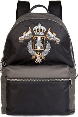 Dolce & Gabbana Embellished Backpack /Grey