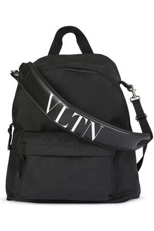 Valentino Logo-Strap Backpack