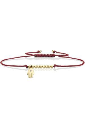 Sydney Evan & Diamond Tiny Hamsa Cord Bracelet