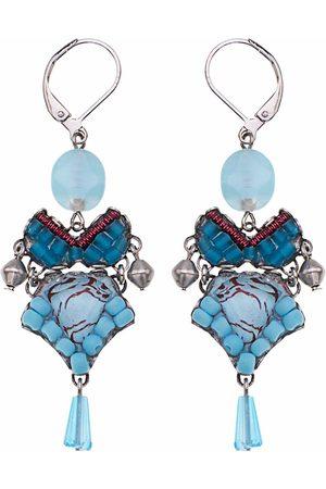 Ayala Bar Turquoise Drama Horizon Earrings