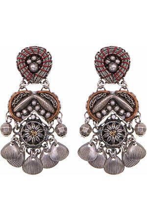 AYALA BAR Women Earrings - Empress Indigo Metal Light Earrings