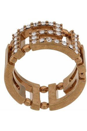 VERSACE WOMEN'S DG5H154DJMXKCOT METAL RING