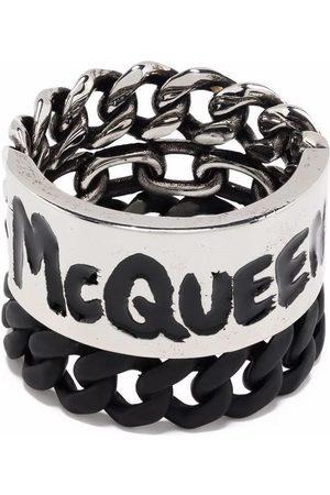 Alexander McQueen MEN'S 663855IAG2Y1060 METAL RING