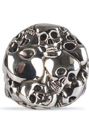 Alexander McQueen MULTI SKULL RING