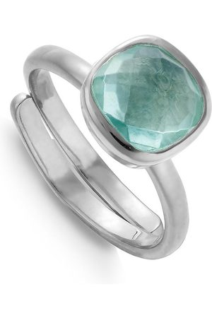 SVP Jewellery SVP Highway Star Ring - Marine Quartz, Silver