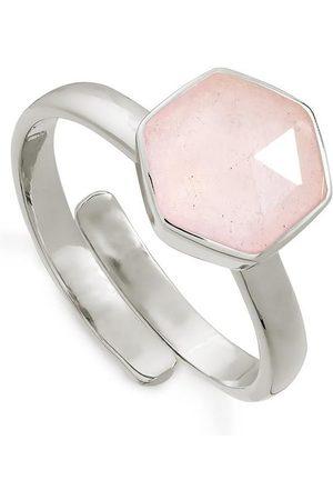 SVP JEWELLERY Women Rings - SVP Firestarter Ring - Rose Quartz