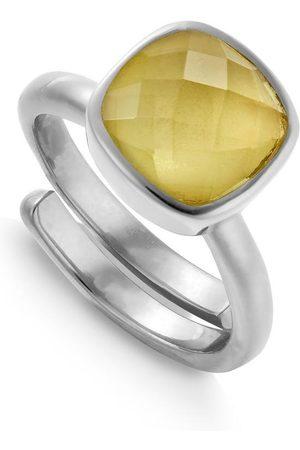 SVP Jewellery SVP Highway Star Ring - Lemon Quartz