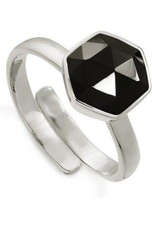 SVP JEWELLERY Women Rings - SVP Firestarter Adjustable Ring - Spinel & Silver