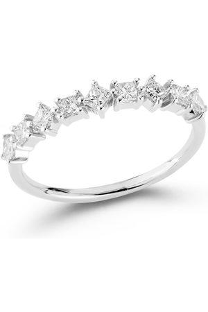 Dana Rebecca Designs Millie Ryan Princess Cut Ring - White Gold