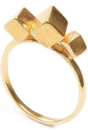 Jewel Tree London Pure 3 Cube Ring
