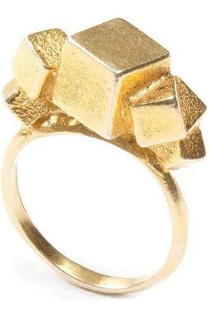 Jewel Tree London Pure 7 Cube Ring