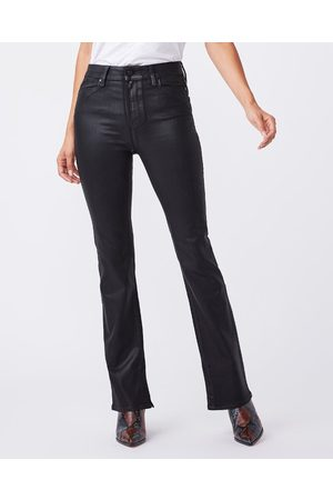 Paige High Rise 'Manhattan' Boot Jeans in Fog Luxe Coating