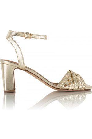 Bobbies Women Heeled Sandals - Livia - Platinum