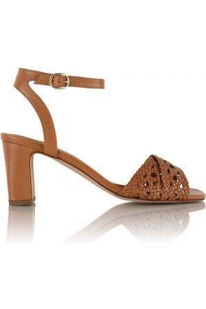 Bobbies Women Heeled Sandals - Livia - Summer Camel