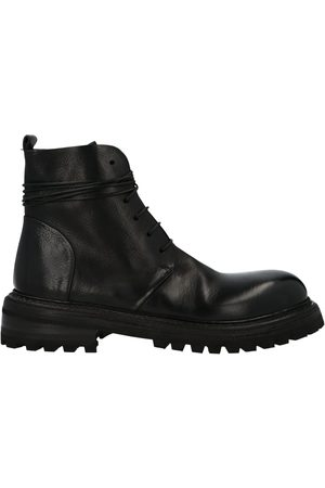 MARSÈLL MEN'S MM4025150666 LEATHER ANKLE BOOTS