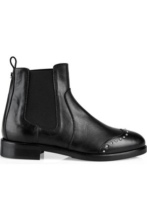 Marc Cain Women Chelsea Boots - LEATHER CHELSEA BOOT WITH STUDS
