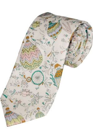 L.A. Smith & Green Liberty Art Fabric Hot Air Balloon Print Tie