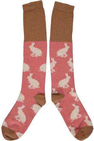 Catherine Tough Rabbit Lambswool Knee Socks