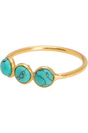 Une A Une Trio Turquoise Ring