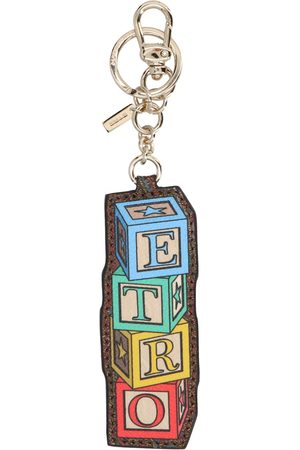 Etro WOMEN'S 1N4222426600 MULTICOLOR POLYESTER KEY CHAIN