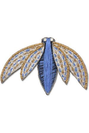 Narratives The Line Women Jewelry - Stitched and Gold Fly Brooch