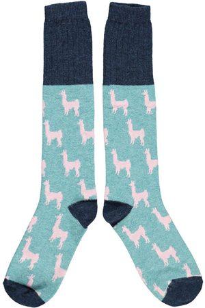 Catherine Tough Llama Lambswool Knee Socks