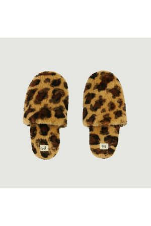 Toasties Slippers Hotel Leopard Leopard