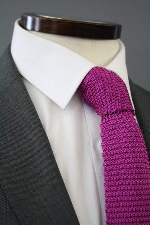 Knightsbridge Neckwear Fuchsia Knitted Silk Tie