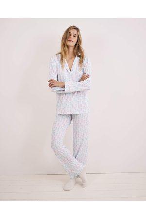 Stripe and Stare Stripe & Stare Pyjama Set - Pina Colada /Pink