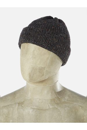 Universal Works Women Watches - Short Watch Cap in Chocolate Kilcarra Wool