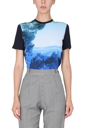 Paul Smith T-shirt with landscape print