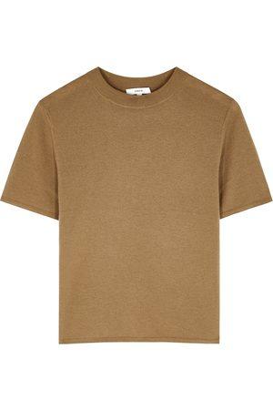 Vince Women T-shirts - Wool-blend T-shirt