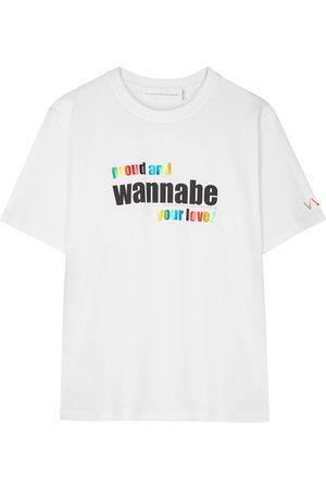 Victoria Beckham Pride Wannabe printed cotton T-shirt