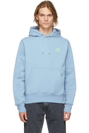 CARNE BOLLENTE Blue 'Angry For More' Hoodie