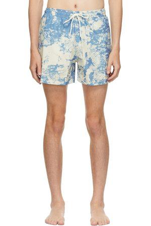 CARNE BOLLENTE Blue 'Too Short For Me' Swim Shorts