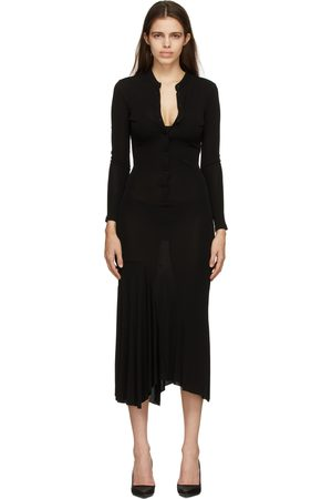 Tom Ford Black Asymmetric Hanley Dress