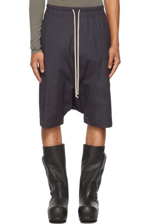 Rick Owens Purple Forever Rick's Pods Shorts