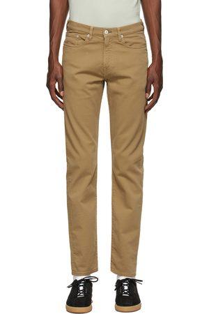 Paul Smith Khaki Organic Cotton Tapered Jeans