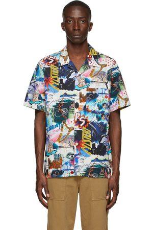Paul Smith Multicolor 'Pulp' Print Short Sleeve Shirt
