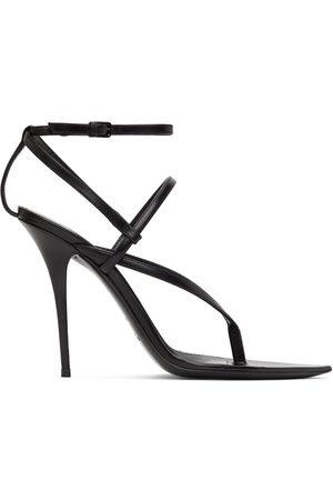 Saint Laurent Black Instinct 110 Heeled Sandals