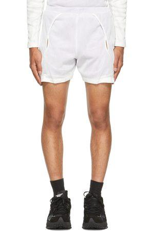 Saul Nash White & Purple 2-Tone Reveal Shorts