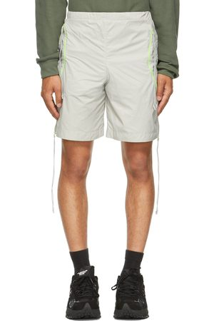 Saul Nash Grey Hybrid Ventilation Shorts