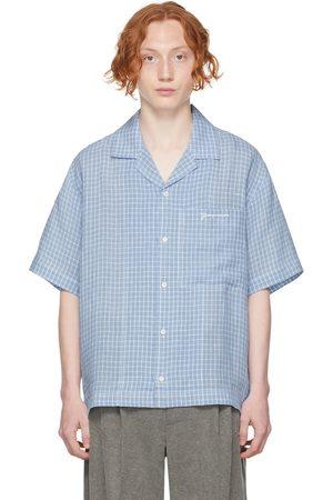 Jacquemus Blue 'La Chemise Jean' Short Sleeve Shirt