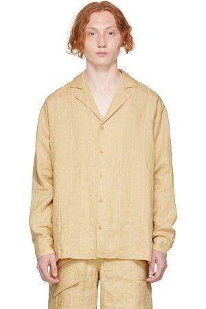 Jacquemus Beige 'La Chemise Raphia' Shirt